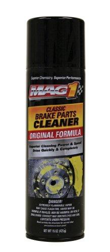 Mag 1 2409-12PK Premium Non-Chlorinated Brake Parts Cleaner - 15 oz Pack of 12