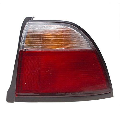 CarPartsDepot 96-97 Honda Accord Right Rear Tail Lamp HO2801119 Outer Brake Signal Lens 24DR