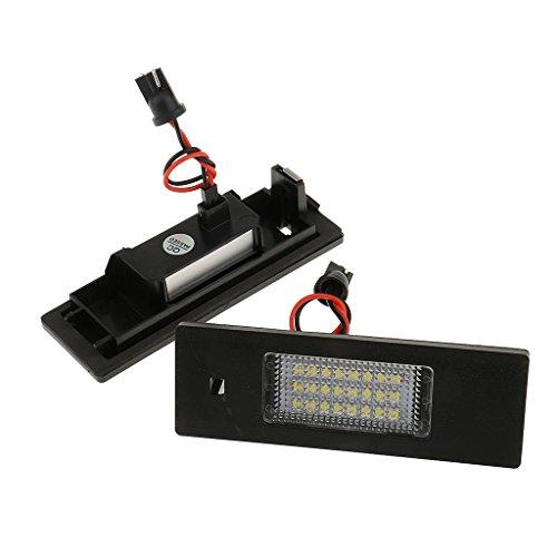 MagiDeal LED Number License Plate Light Car Rear Tail Lamp for BMW E81E85E86E87