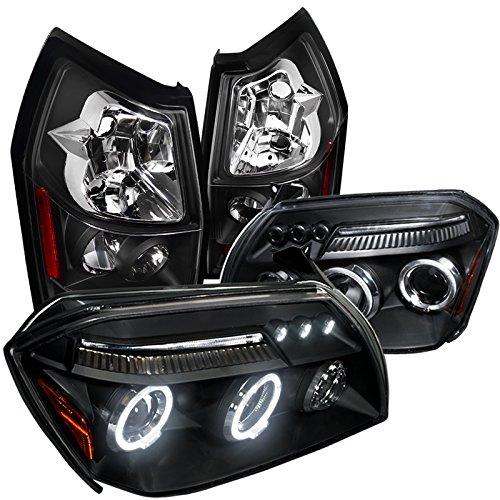 Magnum SeSxt Black Dual Halo Led Projector HeadlightRear Tail Lamp