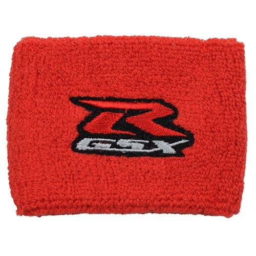 Suzuki GSXR Red Brake Reservoir Sock Cover Fits GSXR GSX-R 600 750 1500 1300 Hayabusa Katana TL 1500 SV 650