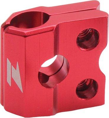 Zeta Anodized Aluminum Red Brake Line Clamp Cr Crf 04-13 Yz450f 09-13