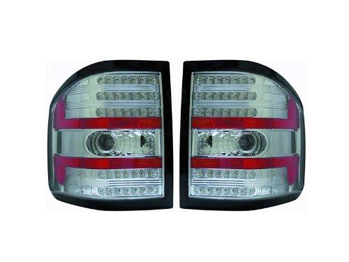 Ford F150 F-150 Flareside 04 05 06 07 08 09 Led Chrome Tail Light Lamp Pair
