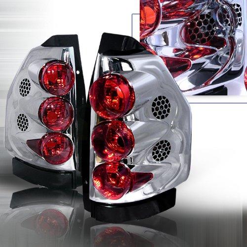 Spec-D Tuning LT-EVY02-KS Chrome Tail Light Altezza