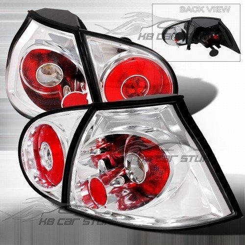 Spec-D Tuning LT-GLF05-TM Volkswagon Golf Gl Gls Gti Hatchback Chrome Tail Lights