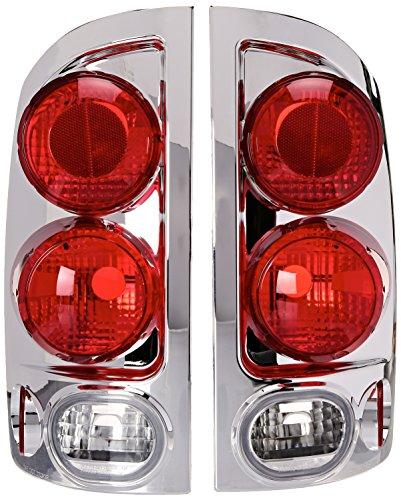 Spec-D Tuning LT-RAM023D-TM Dodge Ram 1500 2500 3500 3D Style Chrome Tail Lights