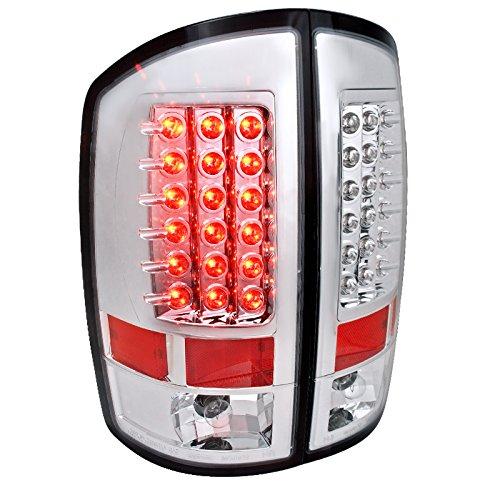 Spec-D Tuning LT-RAM02CLED-TM Chrome Tail Light Led