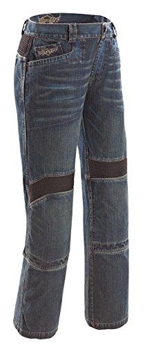 Joe Rocket Rocket Jeans 3.0 Men's Denim Sports Bike Motorcycle Pants - Blue / Size 32