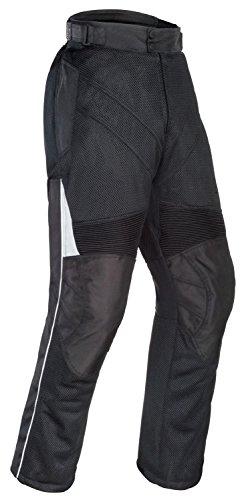 Tourmaster Venture Air Motorcycle Pants Black Size Large