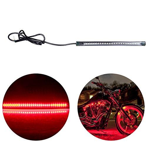 CCIYU 709Inch Yellow Motorcycle Brake Light Turn Signal Light Light Strips Reverse Lights for Car RV SUV Motorcycle Bike ATV BrakeRunning Tail Light