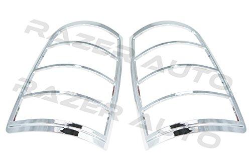 Razer Auto 2009-2014 Dodge Ram 150025003500 Chrome Tail Light Bezel Trim Cover