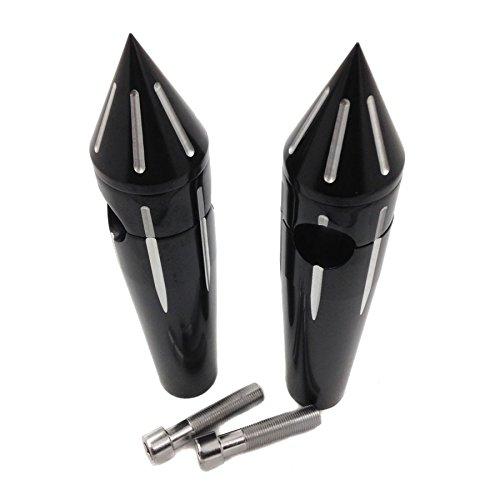 HK MOTO- 1Spike Handlebar Risers 6 for Kawasaki Vulcan 900 Classic black