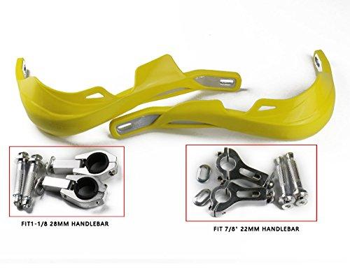 78 22mm Aluminum Insert Hand Guard for Suzuki DRZ400 RMZ250 RMZ450 RM250 RM125 RMX