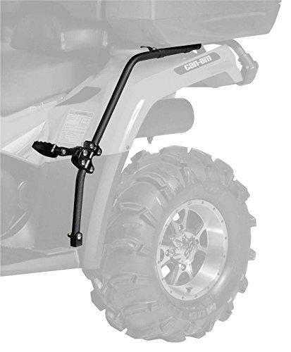 New QuadBoss ATV Fender Protector  Passenger Foot Pegs - 2006-2009 Kawasaki Brute Force 650 4x4i