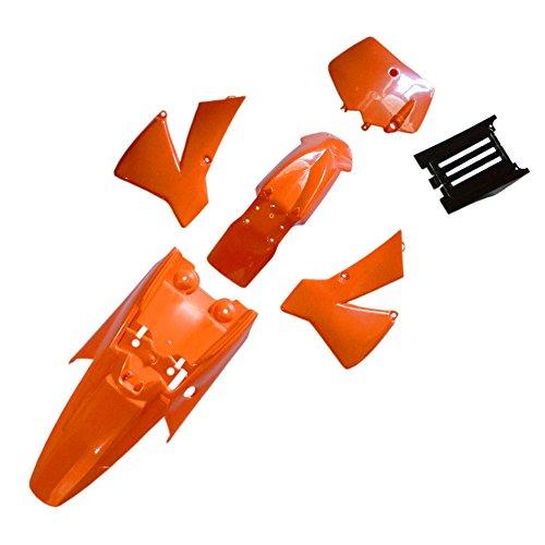 FLYPIG Plastic Fender Kit for 2002-2008 KTM50 KTM 50 SX Junior 50cc New Orange