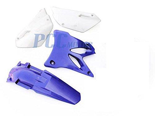 YAMAHA YZ85 YZ 85 PLASTIC FENDERS KIT BLUE 2002-2014 PS69