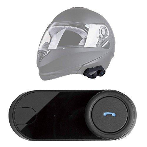 Fochutech 1000m BT Interphone Bluetooth Motorbike Motorcycle Helmet Intercom Headset
