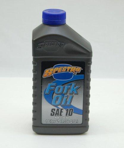 Spectro Motorcycle Fork Oil 10W 1 Quart