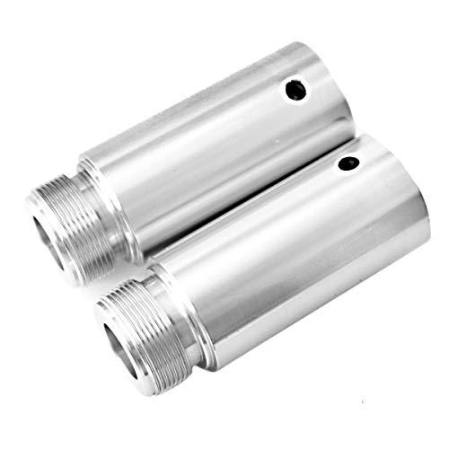 Fork Tube Extensions For 39mm Harley Sportster 883 1200 XL Dyna Glide & FXR 3 fork tube extensions