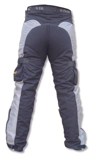 New Fammz Ft52 Motorcycle Textile Touring Pants (42, Black)