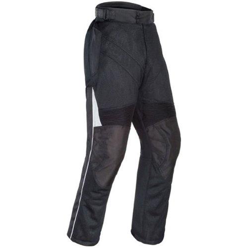 Tour Master Venture Air Men's Textile Touring Motorcycle Pants - Black / Large