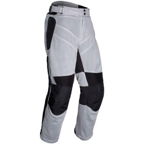 Tour Master Venture Air Men's Textile Touring Motorcycle Pants - Silver / Large