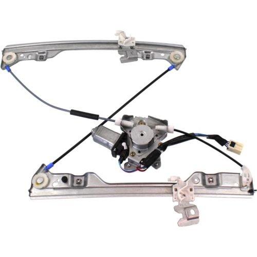 MAPM Premium ALTIMA 02-06 FRONT WINDOW REGULATOR LH Power w Motor 6-prong connector