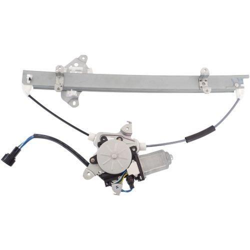 MAPM Premium VERSA 07-11 FRONT WINDOW REGULATOR LH Power w Motor 6 Pins HatchbackSedan
