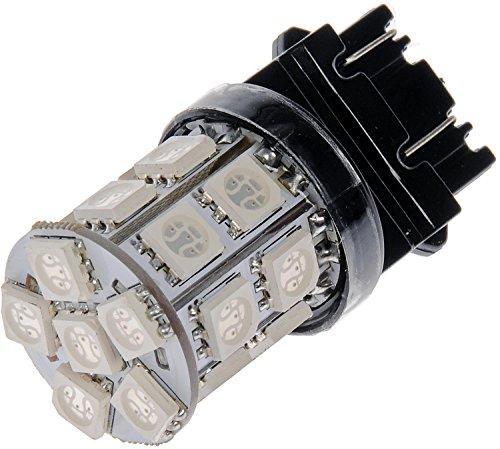 Dorman 3157R-SMD Red LED Turn Signal Light Bulb Pack of 2