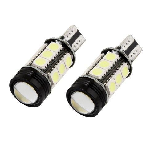 uxcell 2pcs T15 W16W 16-SMD 5050 LED Turn Signal Light Bulb White DC 12V