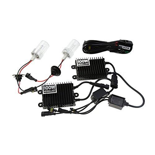12V100W Xenon Headlight H8H9H11 HID Conversion Xenon Kit Car HID light With AC ballast for Vehicle Headlight