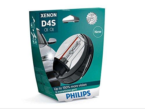 PHILIPS Xenon X-TremeVision Gen2 150 D4S HID Xenon Bulb 42402XV2S1