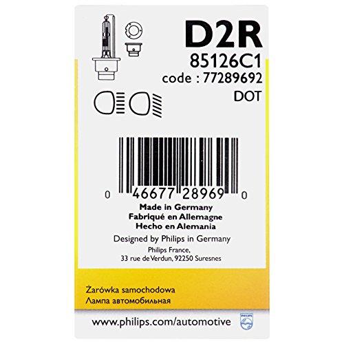 Philips 85126C1  D2R Standard Xenon HID Headlight Bulb 1 Pack