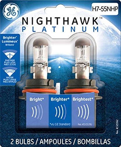GE Lighting H7-55NHPBP2 Nighthawk Platinum Replacement Bulb 2-Pack
