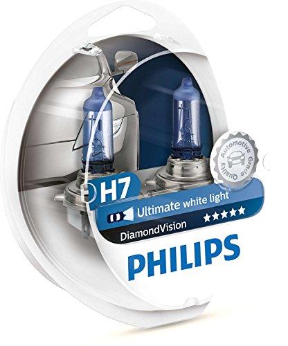 Philips - Diamond Vision H7 Halogen HID Bulbs Pair