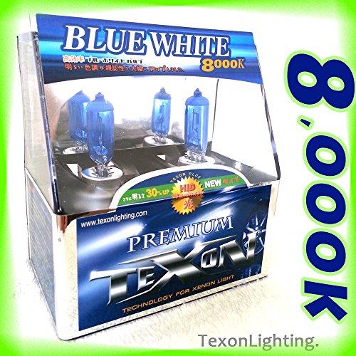 TEXON PREMIUM H7 12V 100W HID XENON 2 BULBS 8000K BLUE-WHITE REPLACEMENT HALOGEN