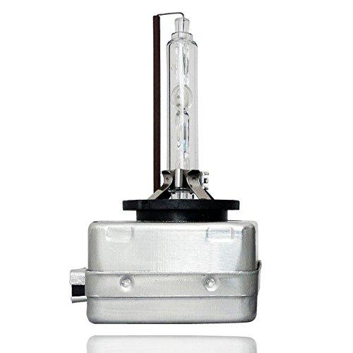 AGT D1S Single Xenon HID Headlight Bulb 6000K Diamond White Pack of 1