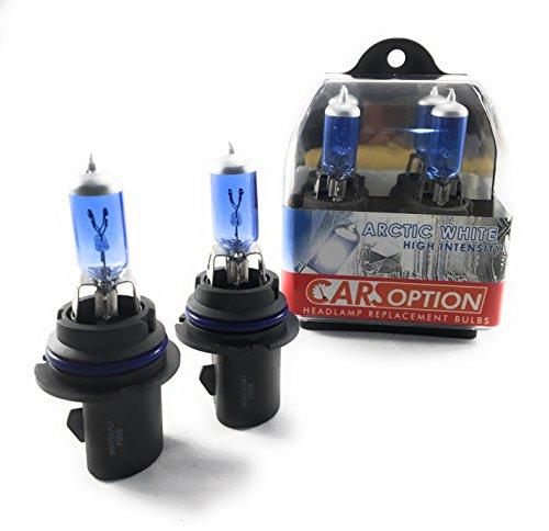 Carsoption 9004 5900K 12v 6545 Watt Super White Xenon HID Headlight Bulb HighLow Beam