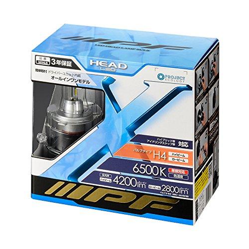 IPF headlight LED H4 bulb 6500K 341HLB