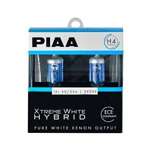 PIAA 23-10104 Xtreme White Hybrid H4 Bulb 3900K - 12V 6055W 2 Pack