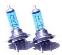 H7 Xenon Headlight Bulb Bulbs Super White 5500k Set of Two of H7