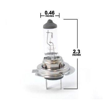 Heliolite Halogen Xenon Headlight Bulb H7 12V 55W Pack of 10