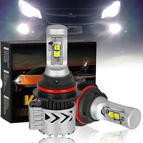 9007 LED Headlight Bulb CREE-XHP50 Chip Super Bright12000Lm- 6K Xenon White 2PCSSet
