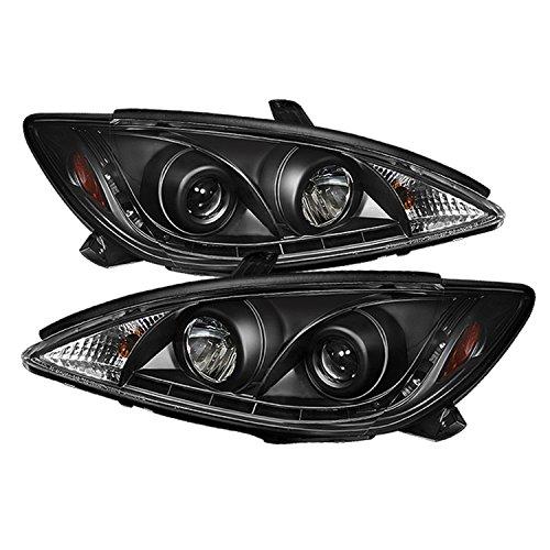 Spyder Auto PRO-YD-TCAM02-DRL-BK Toyota Camry Black DRL LED Projector Headlight
