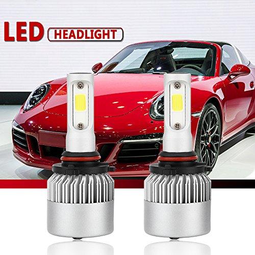 9006HB4 LED Headlight Conversion Kit Auto Car Led Headlamp Bulbs 6000K Cool White All-in-One Error Free Design 9006HB4