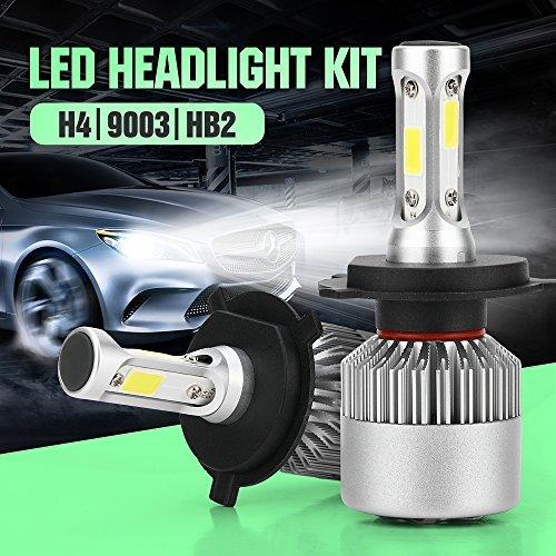 H4 LED Headlight Conversion Kit Auto Car Led Headlamp Car Bulbs 6000K Cool White  All-in-One Error Free Design H4 HB29003