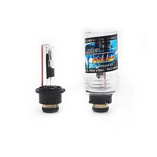 D2R Xenon HID Headlight New-view 2 Pcs 12V 35W Xenon Light Auto Single Replacement Bulb Light Source 4300k 5000k 6000k 8000k 10000k 12000k  Color  4300k