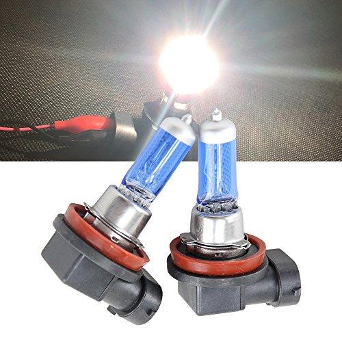 NSLUMO 2pcs H11 Halogen Bulb PGJ19-2 6500K Auto Car Moto Lamps 55W Car Head Light Lamp u20 6500K Xenon HID Headlight Bulb - Low Beam H11 12V 55W