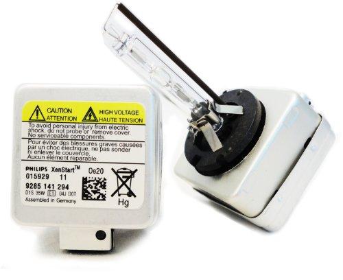 Philips D1S Xenon HID Headlight Bulb Pack of 2 000326 D1S 35W 9285 141 294 OEM Xenon HID