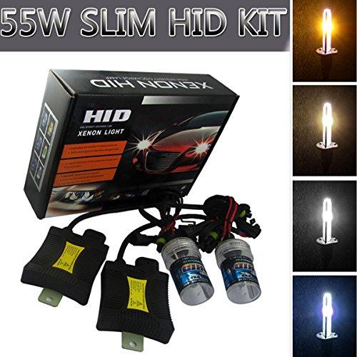 Universal H8 H8 H10 Car Vehicle 12V 55W Xenon HID Headlight 8000k For Car